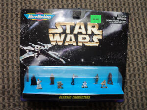 """Star Wars Micro Machines """"Classic Characters"""" *NEW IN BOX*"""