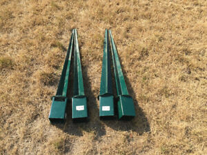 Fence post holders