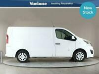 2016 Vauxhall Vivaro 2700 1.6CDTI BiTurbo 120PS ecoFLEX Sportive Short Wheelbase