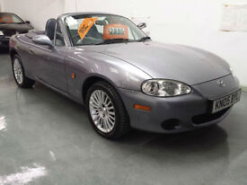 2005 MAZDA MX5 1.8cc LTD EDITION EUPHONIC - LEATHER HEATED SEATS - DAB RADIO