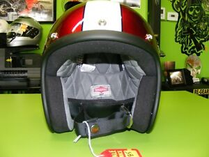 Biltwell Racer LE - Cool Open Face - Large at RE-GEAR Kingston Kingston Area image 3