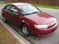 2004 Saturn ION one owner only 60000 km e-test safety FIRM $3900