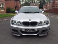 2002 BMW E46 M3 High Spec Csl Carbon May Px m5 type r c63 Evo Honda Audi Mercedes x5 and range rover
