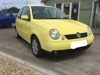 (53) 2003 Volkswagen Lupo 1.4 Sport Bright Yellow ONLY 31,000 MILES 1 OWNER