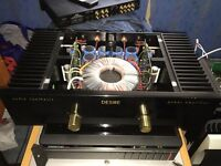 Audio Synthesis class a, a/b power amp hiend british/meridian 502 preamp