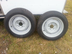 155/80r15 Radial T/A Tires and Wheels