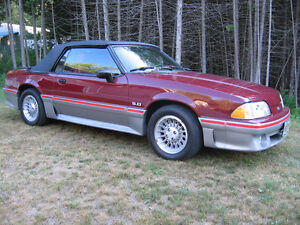"1988 FORD MUSTANG GT CONVERTIBLE ""100% ORIGINAL CAR"""