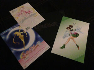 Sailormoon R movie premiere cards