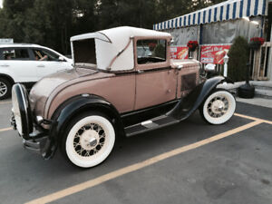 Ford model-A 1930 2 drs coupe