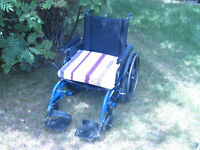 "18"" Wheel chair -- 20 inch diameter wheels"