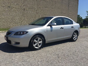 2008 Mazda MAZDA3 Gas Saver/New Clutch/Certified and E-Tested