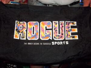 """""""Rogue"""" Designer Type Duffel Bag"""