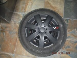 2015 Hyundai Accent snow tires and rims