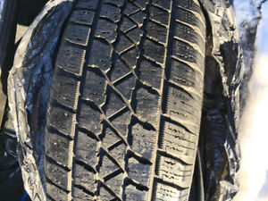 Winter tires !! Sale $70 Canadian.. 215/55/17