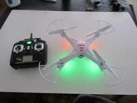 ★REMOTE CONTROL UFO HELICOPTER DRONE QUADCOPTER WITH LIGHTS/CAM★