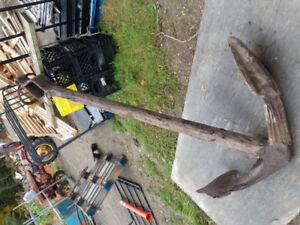 Antique anchor