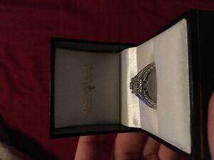 14kt Diamond DC Taylor Ring
