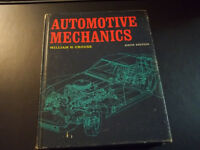 Vintage 1970 Automotive Mechanics by William H Crouse