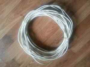 Over 100 ft of satellite cable