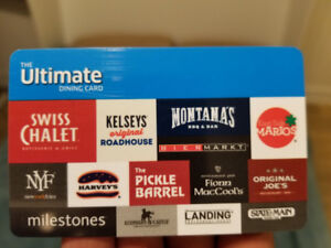The Ultimate Dining Card (gift card)