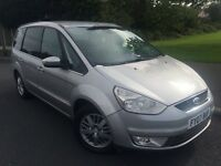 2007 New shape Ford Galaxy Ghia 2.0 tdci 6 speed # 7 seater mpv # full leather # parking sensors