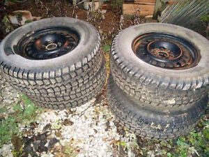 Snow Tires for Jeep Wrangler on Rims