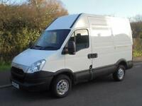 2012 62 IVECO-FORD DAILY 2.3 HPT 35S11 SWB HIGH ROOF PANEL VAN (EURO 5) DIESEL