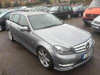 Mercedes-Benz C250 2.1TD ( 201bhp ) BlueEFFICIENCY 7G-Tronic CDI Sport - 2011
