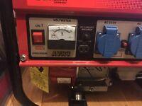 Petrol generator 2.8 kW brand new