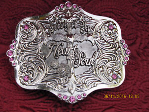 Belt Buckle - Montana Silver Smith