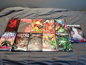 DC and Marvel comics for sale