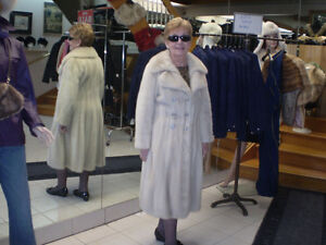 Mink Coat currently in storage at Fur Boutique London ON