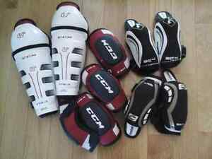 Hockey elbow pads Youth and junior sizes