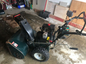 Craftsman Snowblower 11hp 30 inch electric start