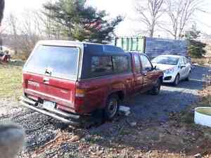 1990 Two Wheel Drive Toyota Truck with cab no rust  needs clutch