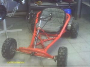 Single Seater Go-Cart $700.00  Two Seater Go-Cart $2000.00
