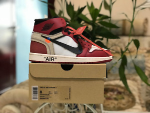 NIKE AIR JORDAN 1 x OFF-WHITE JustFlames.com 6-12sz WE HAVE LOT