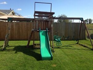 Wooden playstructure