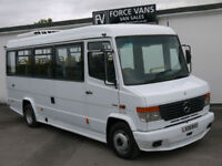 MERCEDES 613 VARIO BLUETEC DISABLED ACCESS WELFARE PSV EXPORT MINIBUS CAMPER VAN