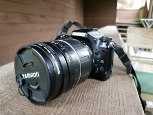 Pentax ist D with TamronLD 28-300 lens