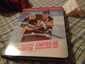 Easton one piece hockey stick brand new,Sidney Crosby cardbinder