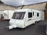 2008 elddis liberte twin axle fixed bed