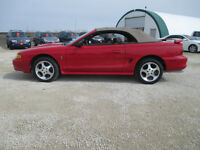 1997 Ford Mustang COBRA Convertible V8 5spd
