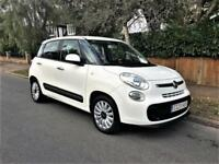 2013 Fiat 500L 1.4 ( 95bhp ) Lounge LHD LEFT HAND DRIVE ONLY 31K