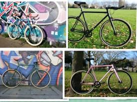 Brand New Single Speed Fixed Gear bike Road hybrid bicycle