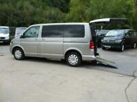 2013 Volkswagen T5 Shuttle SE Driver Transfer/ Wheelchair Passenger Vehicle