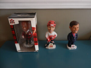NHL Bobbleheads Gretzky, Henderson, Don Cherry Lot of 3