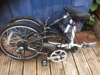 Folding bike for sale.
