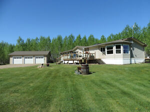 Home, Land and Shop close to Lac La Biche?