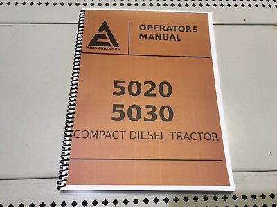 5020 Allis Chalmers Operators Manual
